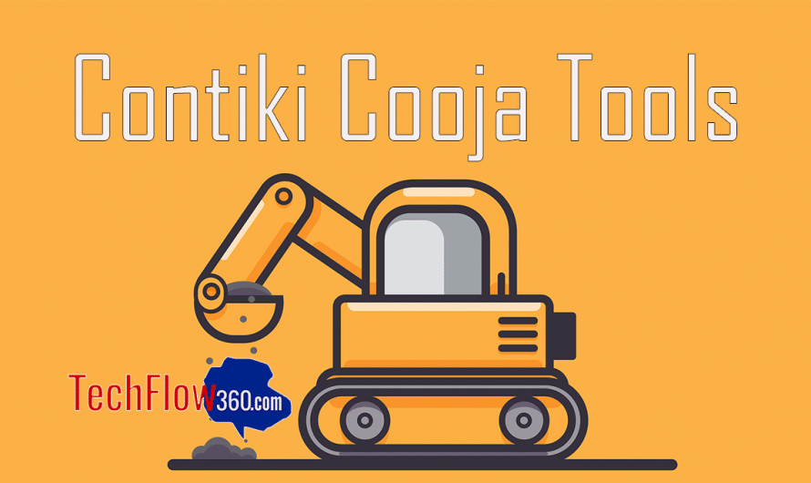 List of tools in Cooja and their Functionalities