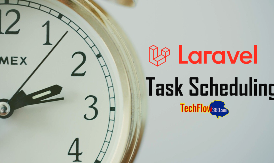 Laravel 6 or Laravel 7 Cron Job Task Scheduling